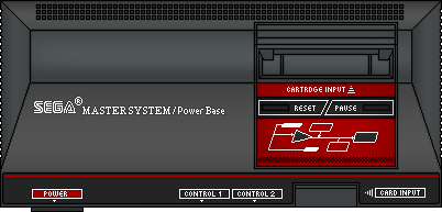 Sega Master System by BLUEamnesiac