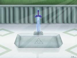 Master Sword 11272011 by BLUEamnesiac
