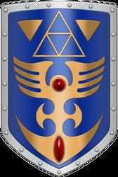ALTTP Shield by BLUEamnesiac