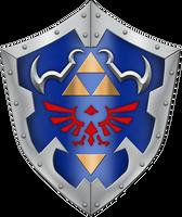 OOT Hylian Shield by BLUEamnesiac