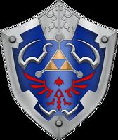TP Hylian Shield by BLUEamnesiac