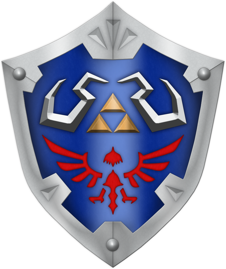 SS Hylian Shield by BLUEamnesiac