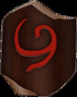 OOT Deku Shield by BLUEamnesiac