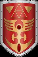 ALTTP Red Shield by BLUEamnesiac