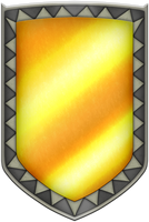 ALTTP Mirror Shield by BLUEamnesiac
