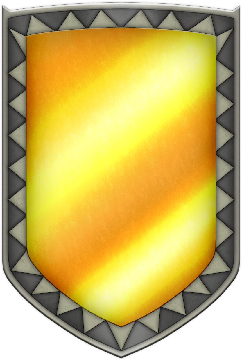 ALTTP Mirror Shield by BLUEamnesiac