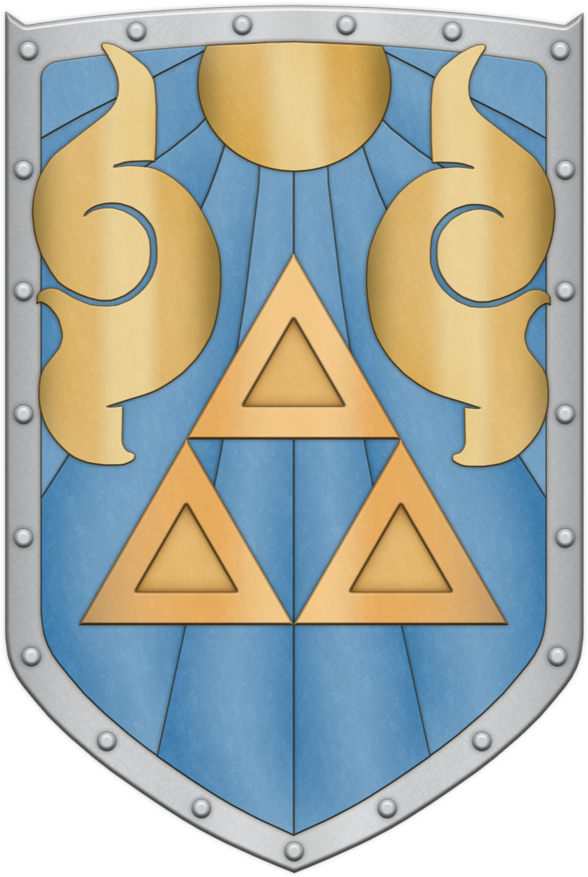 ALTTP Fighter's Shield by BLUEamnesiac