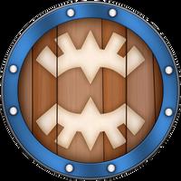 SS Banded Shield by BLUEamnesiac