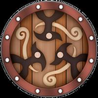 SS Braced Shield by BLUEamnesiac