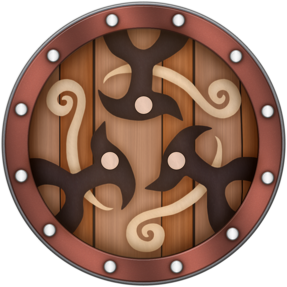 SS Braced Shield by BLUEamnesiac