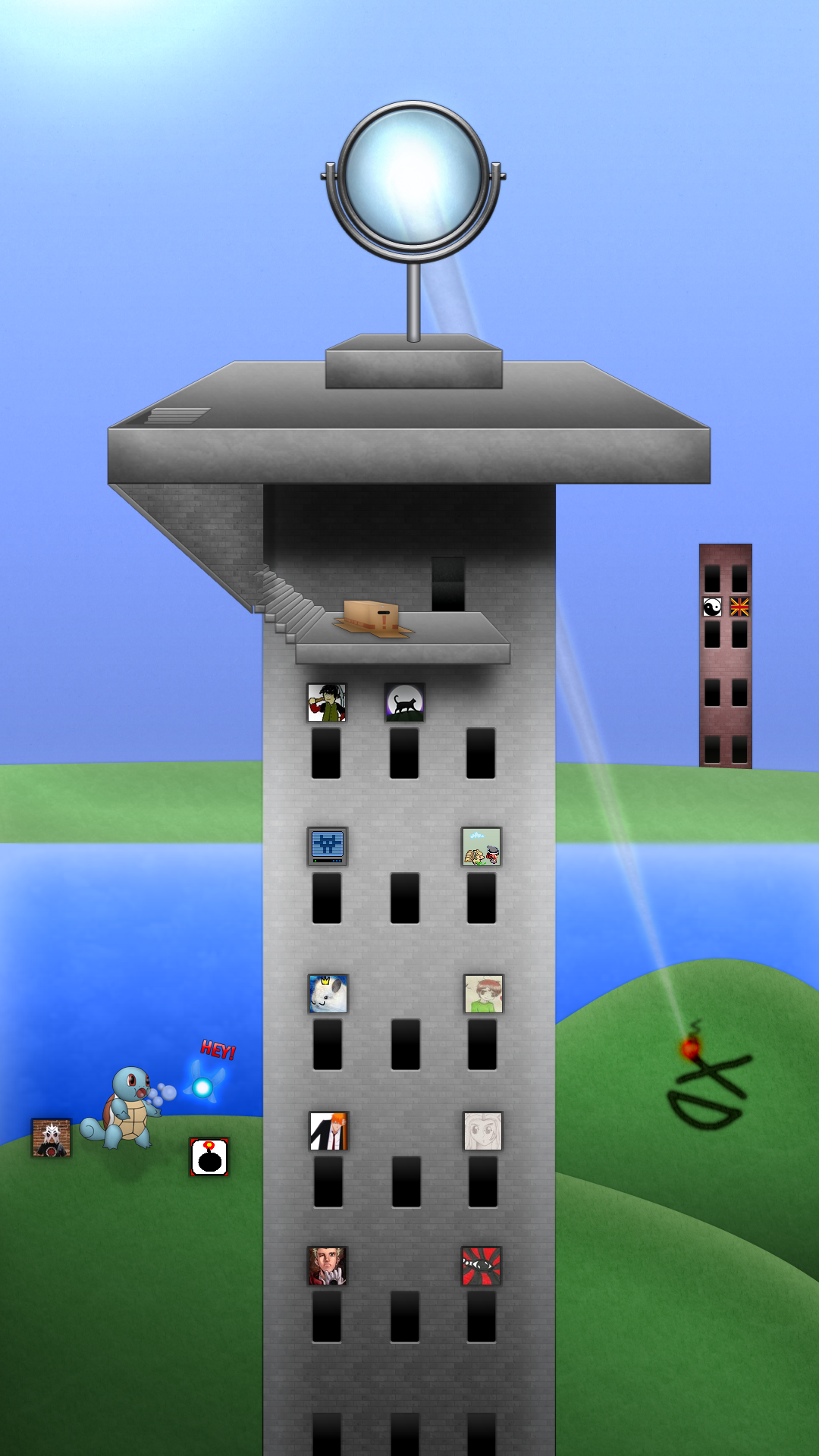 Tower of Blue :Under Construction: by BLUEamnesiac