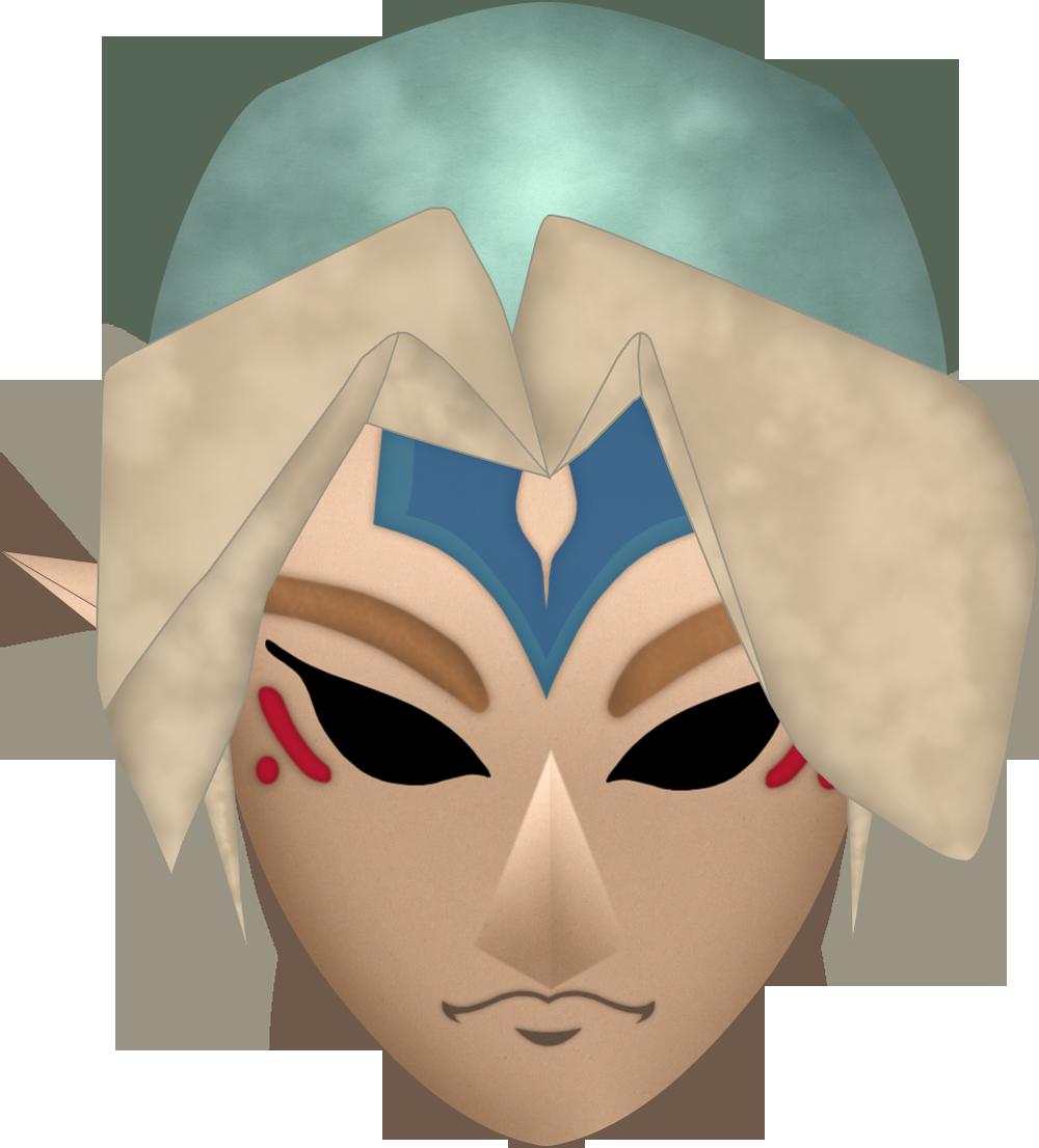 Fierce Deity's Mask by BLUEamnesiac