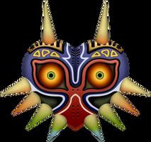 Majora's Mask by BLUEamnesiac