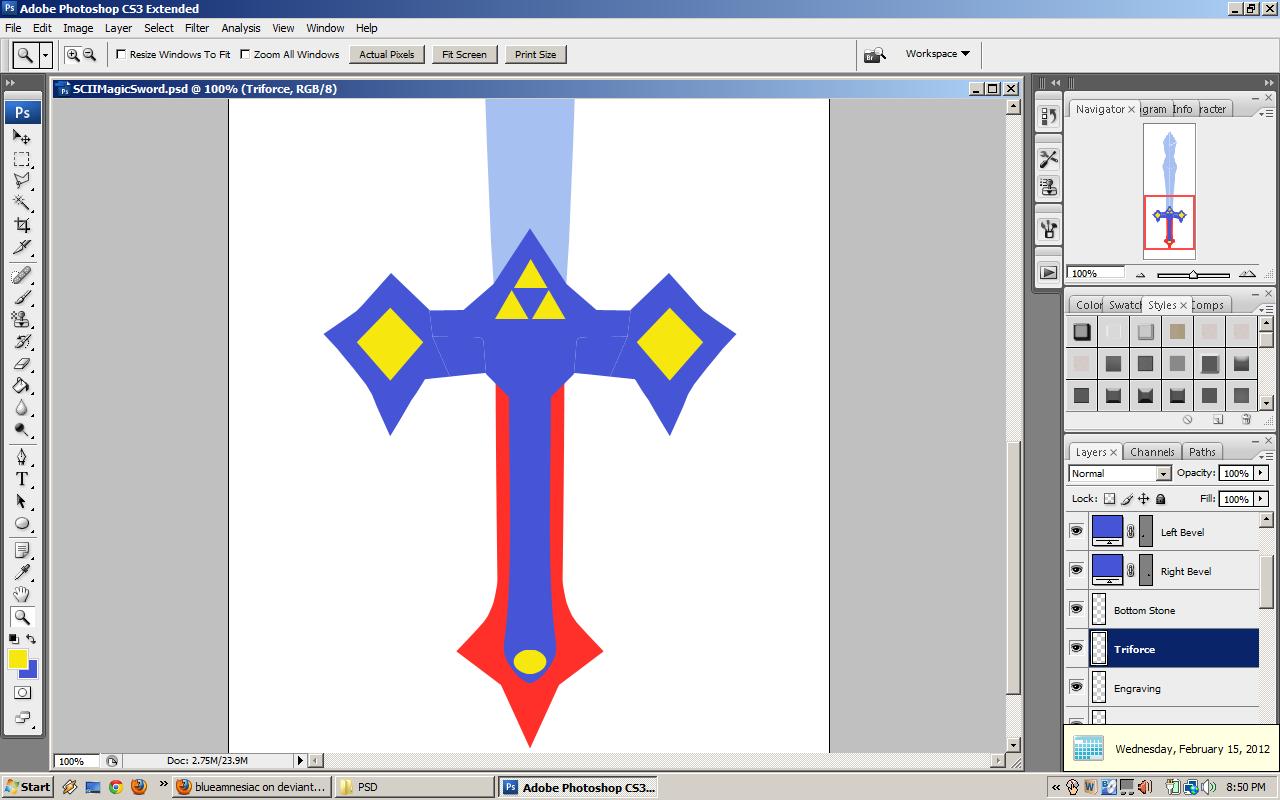 SCII Magic Sword WIP