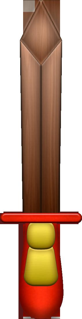 LOZ Wooden Sword 1