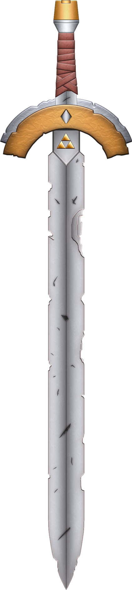 ALTTP Box Art Sword by BLUEamnesiac