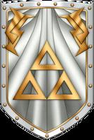 ALTTP Box Art Shield by BLUEamnesiac