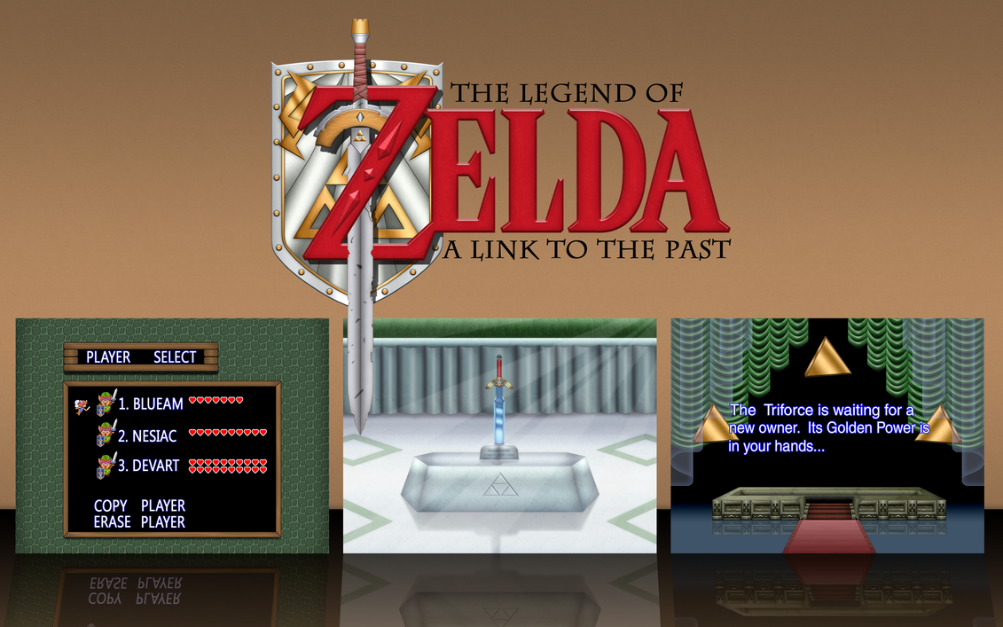 20th Anniversary A Link to the Past Wallpaper by BLUEamnesiac