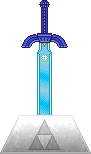 OOT Master Sword [Pedestal of Time] by BLUEamnesiac