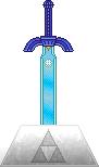 OOT Master Sword [Pedestal of Time] by BLUEamnesiac