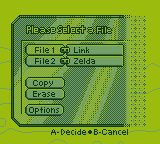 Majora's Mask: File Select [Game Boy Demake] by BLUEamnesiac