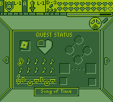 Majora's Mask: Quest Status [Game Boy Demake] by BLUEamnesiac