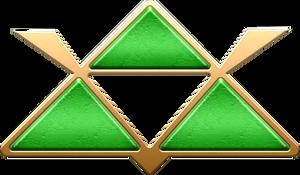 ALTTP Green Triforce Decoration