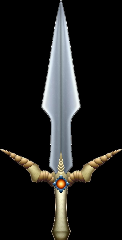 OOT Beast Ganon's Sword by BLUEamnesiac