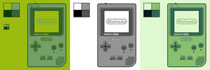 Game Boy Pocket: 4 Color Palettes by BLUEamnesiac