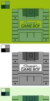 Super Game Boy: 4 Color Palettes