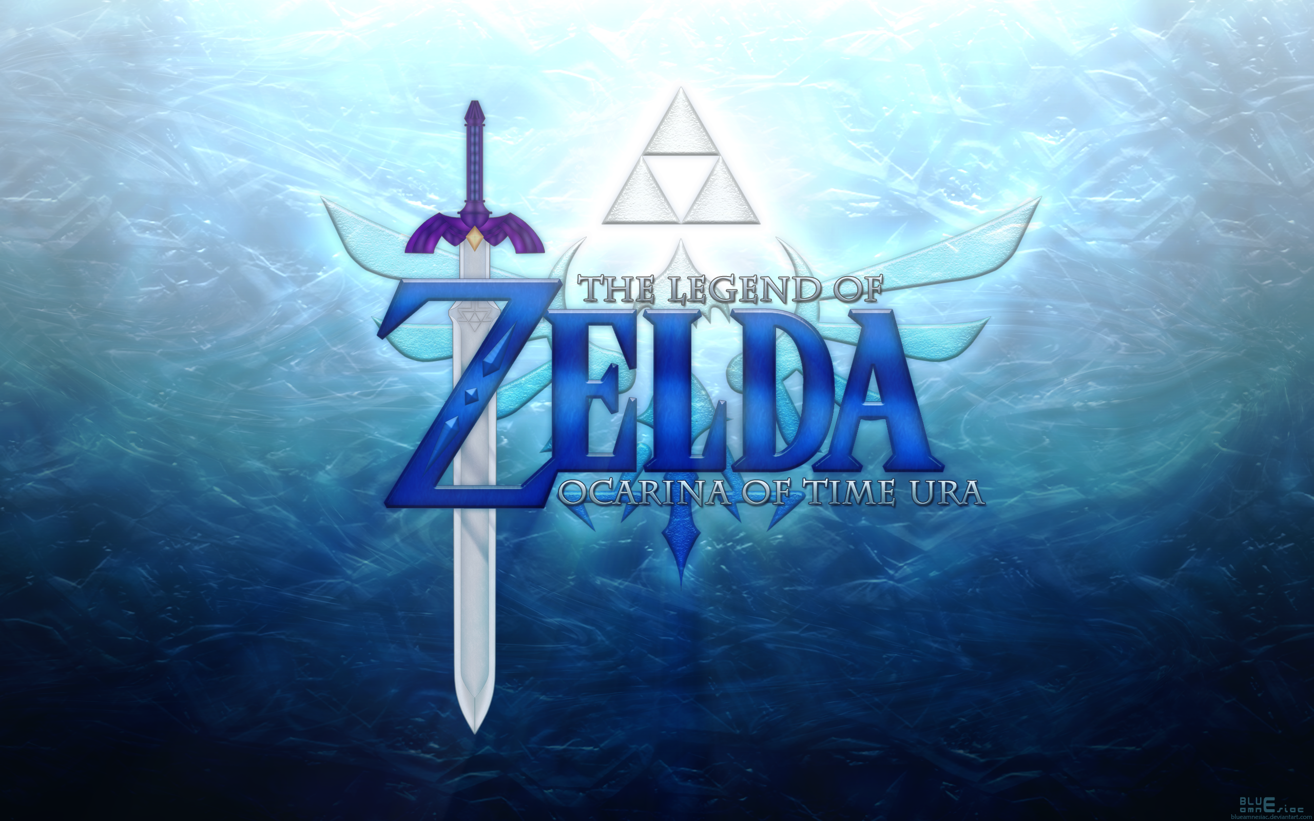 Ocarina Of Time Ura Wallpaper By Blueamnesiac On Deviantart