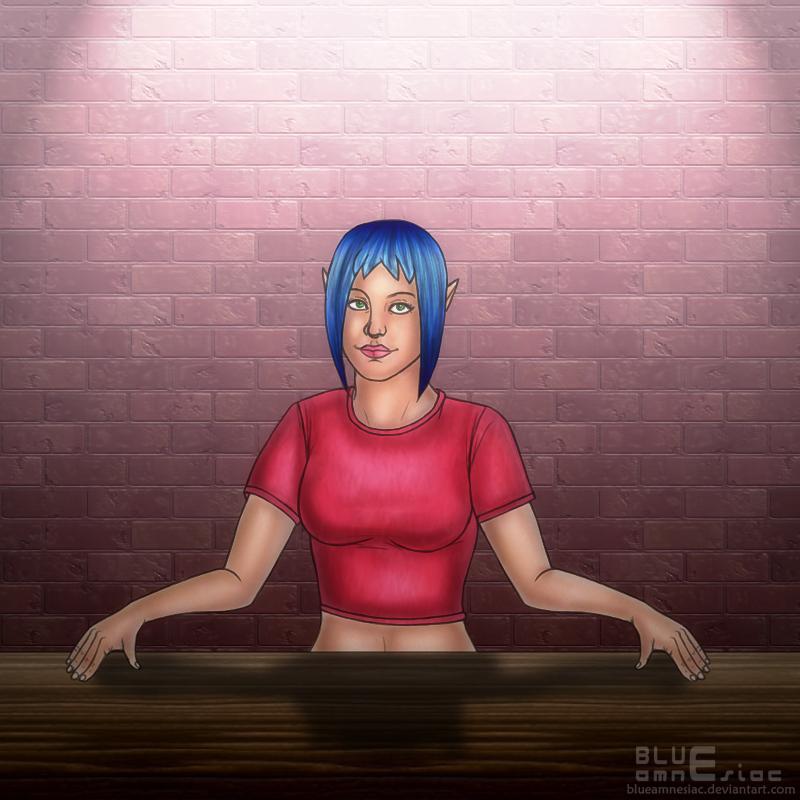 OOT Mini-game Operator by BLUEamnesiac on DeviantArt