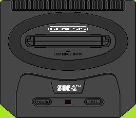 Sega Genesis II by BLUEamnesiac