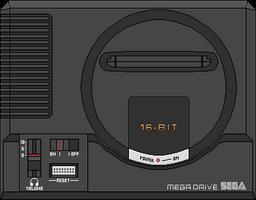Sega Mega Drive (EUR/PAL) by BLUEamnesiac