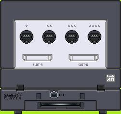 Nintendo Gamecube by BLUEamnesiac