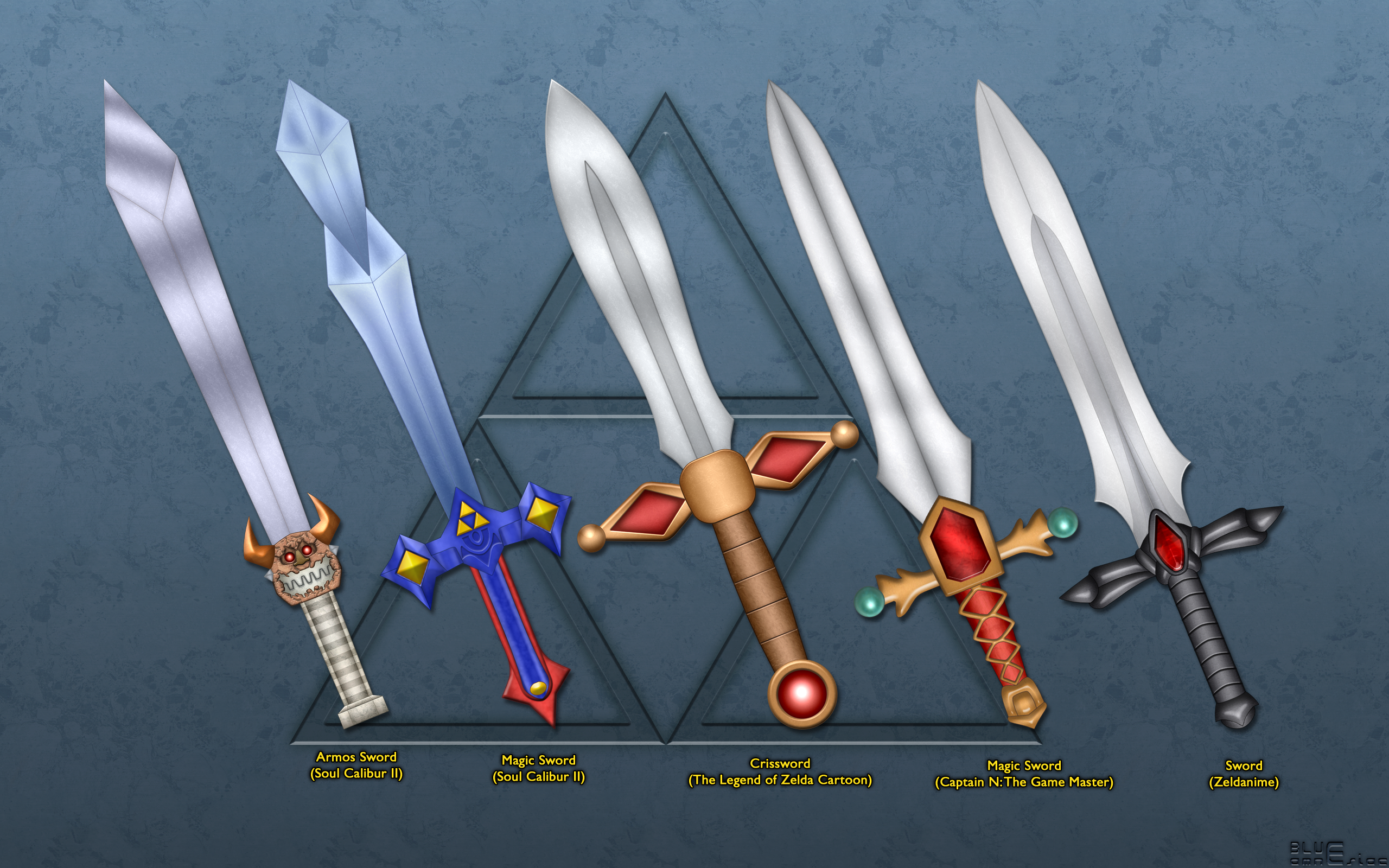 Free download Evolution of the Master Sword Wallpaper by