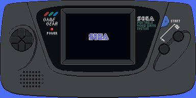 Sega Game Gear by BLUEamnesiac