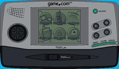 TIGER game.com by BLUEamnesiac