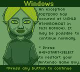 Windows GB: BSOD (Ben Screen of Death) by BLUEamnesiac