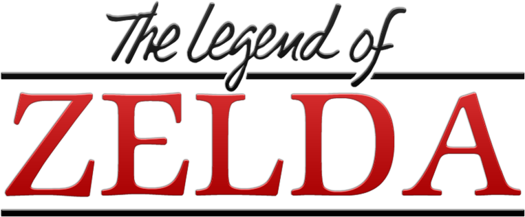 Classic The Legend Of Zelda Logo By BLUEamnesiac