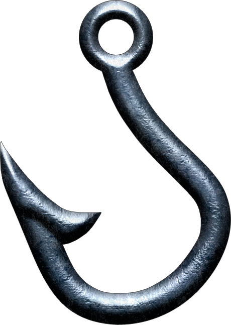 Fish Hook Png La fishing hook by