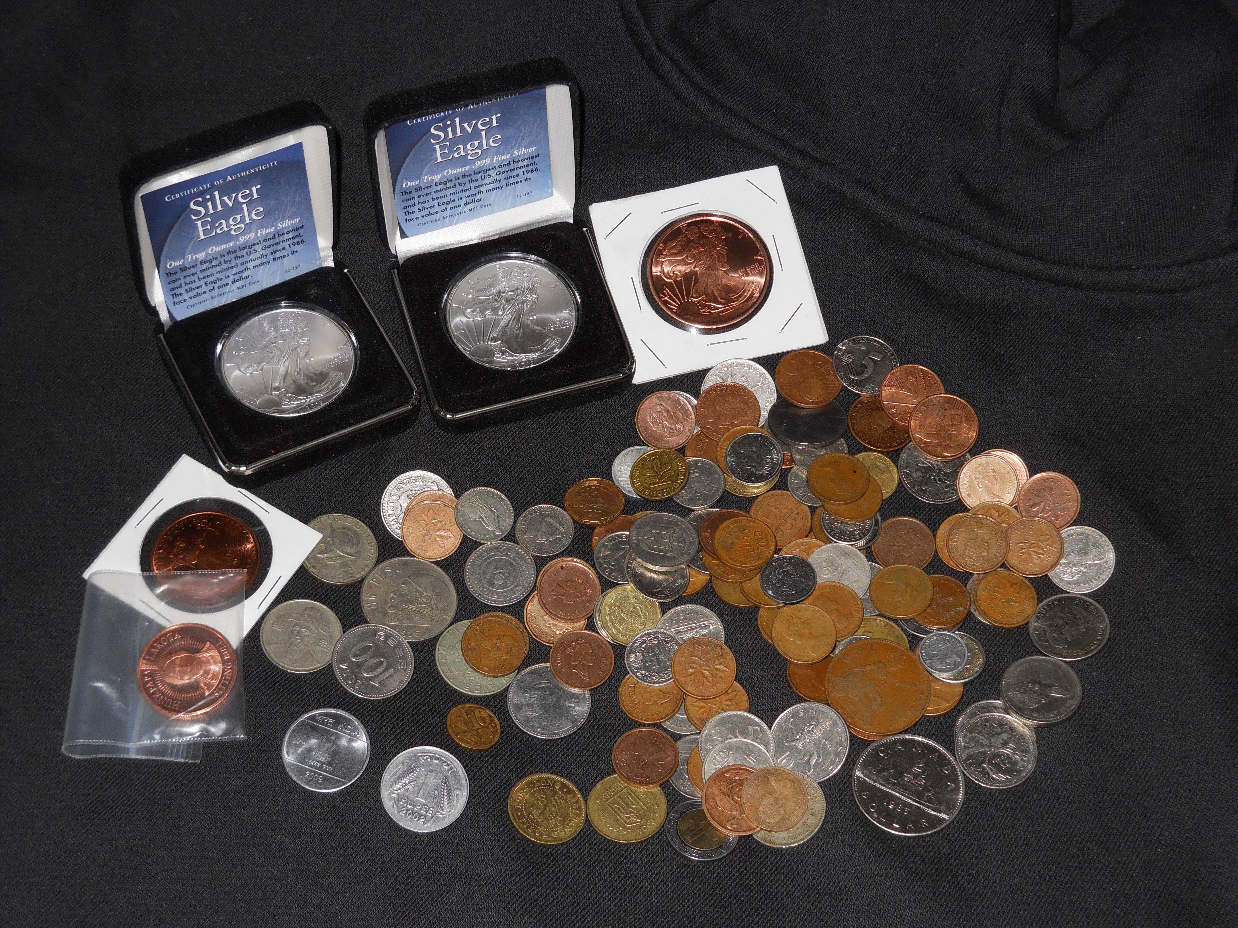 Coins by BLUEamnesiac