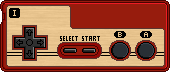 Famicom Controller I by BLUEamnesiac