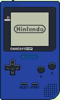 Game Boy Pocket [Blue] by BLUEamnesiac
