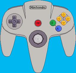 Nintendo 64 Controller by BLUEamnesiac