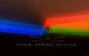 Power Wisdom Courage Wallpaper by BLUEamnesiac