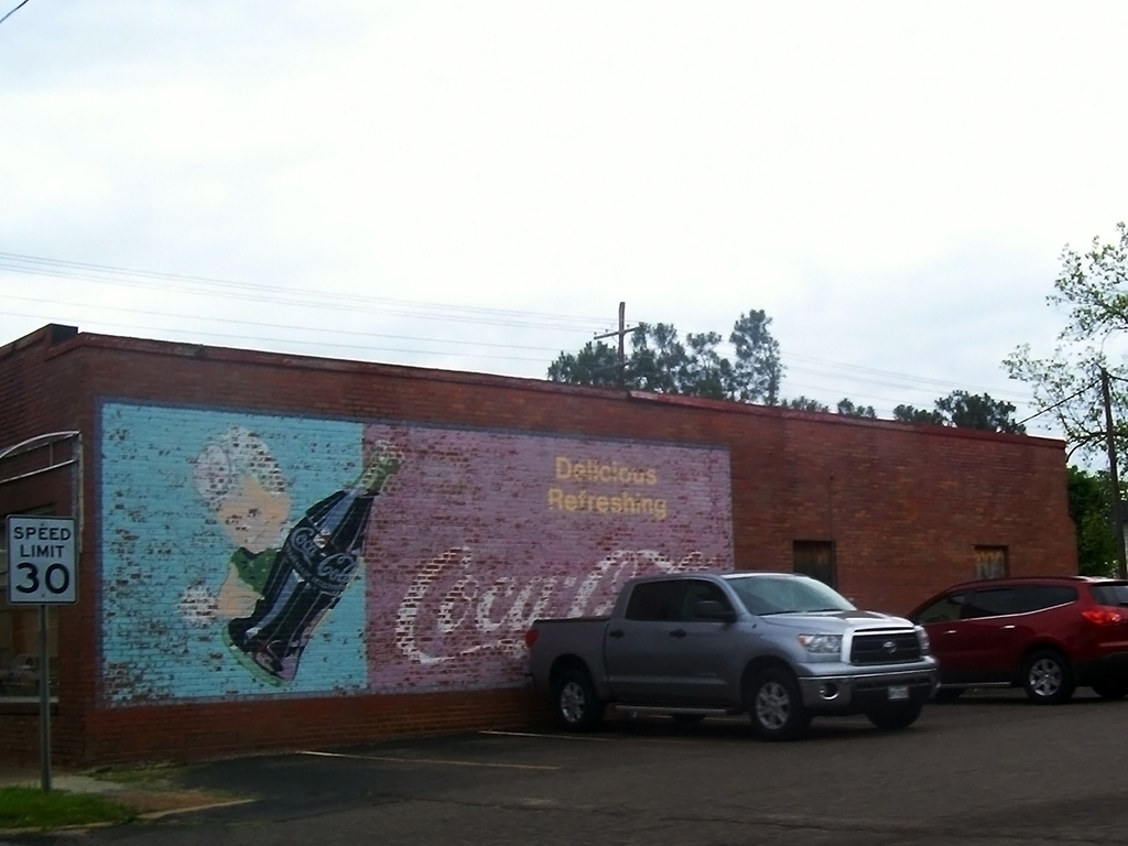 Old coca cola mural by blueamnesiac on deviantart for Coca cola wall mural