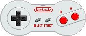 NES Controller [Model 2] by BLUEamnesiac