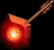 OOT Fire Arrow by BLUEamnesiac