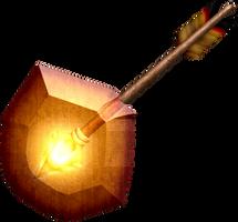 OOT Light Arrow by BLUEamnesiac